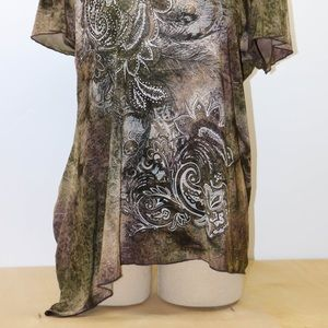 Dress Barn Tops - Dress Barn Woman's XL Green